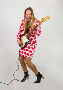 Zingende rock chick