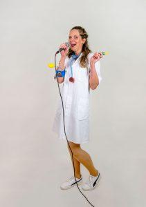 Zingende dokter